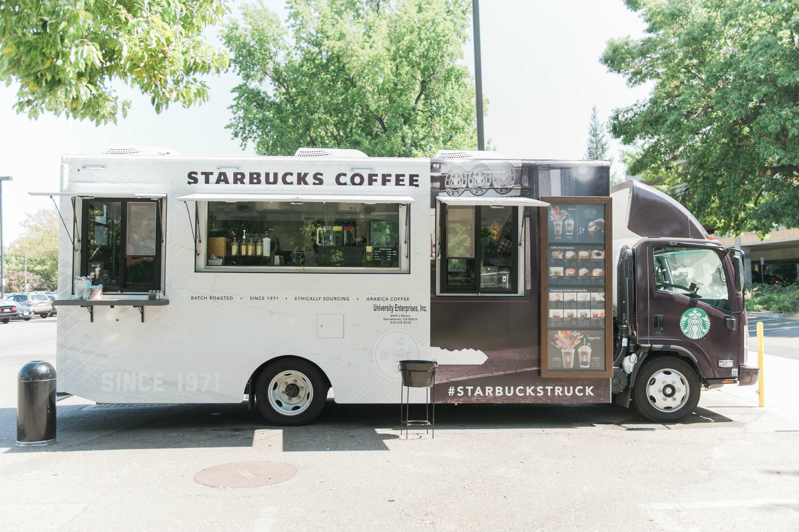 The State Hornet : Starbucks wheels out new campus spot