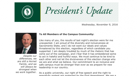 Sac State leaders release statements on election, protests