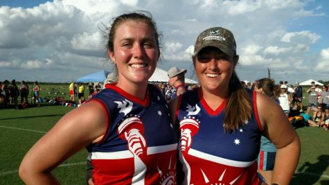 Hornet alumnae are newest additions to U.S. footy team