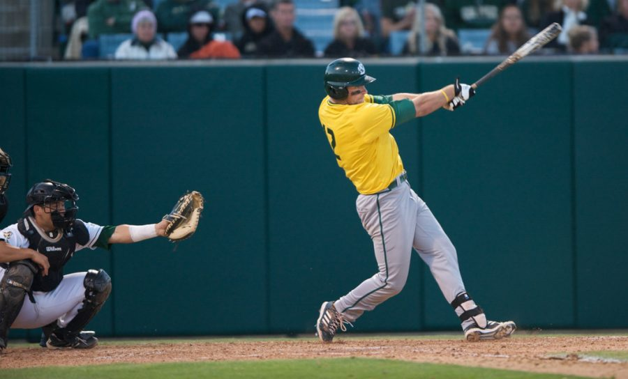 Sacramento+State+alumnus+Rhys+Hoskins+earned+Western+Athletic+Conference+Player+of+the+Year%2C+first+team+All-WAC%2C+second+team+All-West+Region+by+Rawlings+and+named+third+team+All-American+by+Collegiate+in+2014.+%28Photo+courtesy+of+Bob+Solorio%2FSac+State+Athletics%29