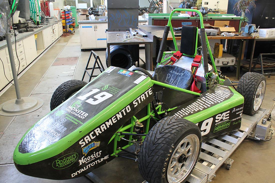 Hornet Racing speeds toward Formula SAE competition