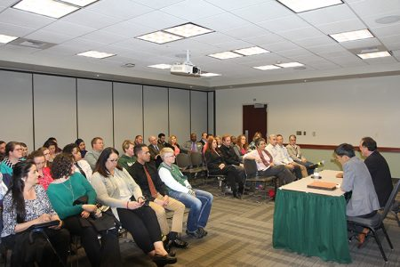 Sac State accreditation team hosts forum as part of campus visit