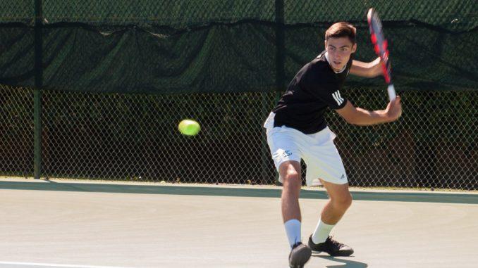 Hornets defeat No. 1 men's tennis team in Big Sky – The ...
