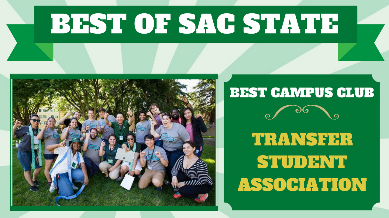 Transfer Student Association voted 'Best Campus Club' at Sac State
