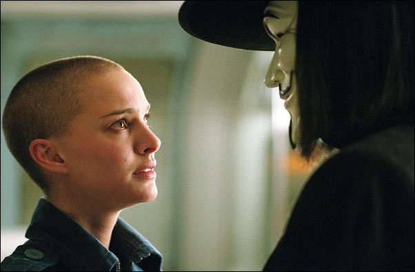 Image: This futuristic film brings comic book 'vendettas' to life:Natalie Portman as