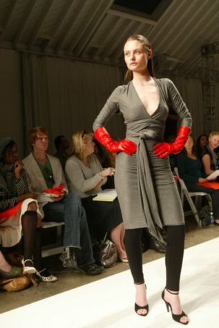 Layering a dress with leggings is a must this winter.:Photo courtesy mctcampus.com