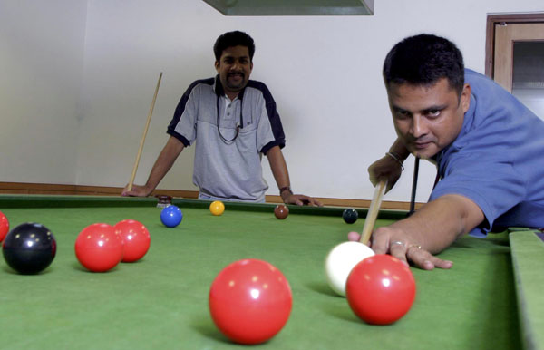 In Wii Play, gamers can play games such as billiards, air hockey and table tennis:photo courtesy mctcampus.com