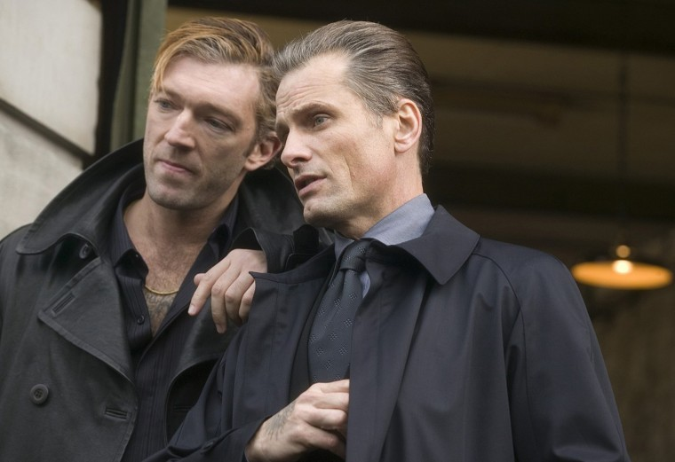 Viggo Mortenson (right) is one of the main characters in new Russian mob movie, out last Friday.:Courtesy: Peter Mountain/Focus Features/MCT
