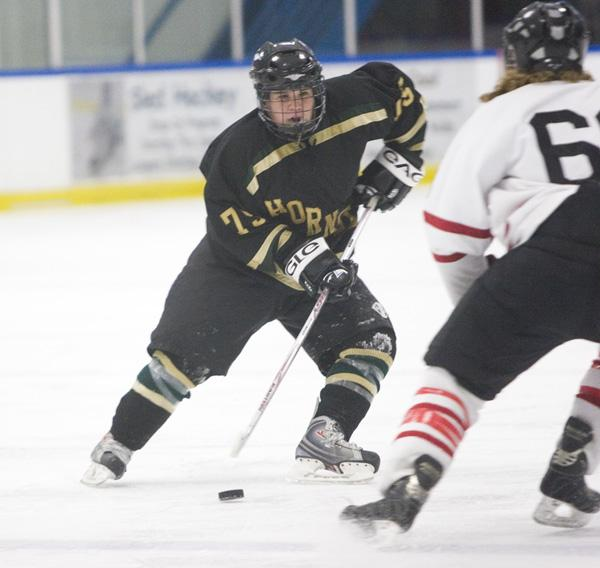 The Hornets, with Ray Gsell, make a great effort, but lose 4-9 to CSU Northridge after the half on Friday at Skate Town in Roseville.: