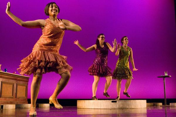 A Sacramento State dance performance, called
