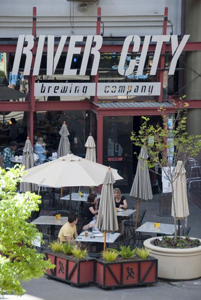 river city brew:River City is located near 5th and K streets in the K Street Mall.:Tony Nguyen - State Hornet