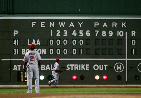 fenway park:Fenway Park is the home of the Boston Red Sox and is the oldest Major League Baseball stadium still in use.:Courtesy of the McClatchy Tribune