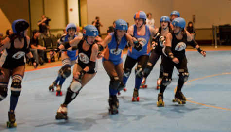 Roller Derby takes over Sac State