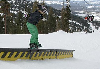 snb:Junior Monica Koppit took sixth in individual slopestyle.:Courtesy of Monica Koppit