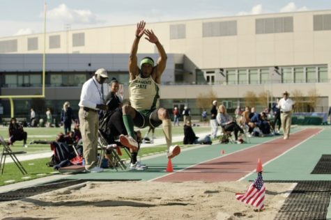 Track and field flies high
