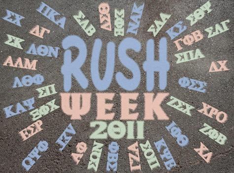 Rush Week 2011 aims to expand membership of sororities and fraternities