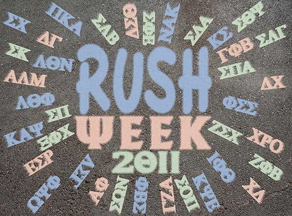 Rush Week 2011 aims to expand membership of sororities and fraternities