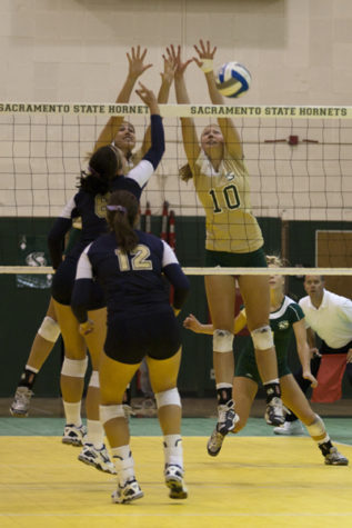 Sac State volleyball beats Northern Colorado in 3 games