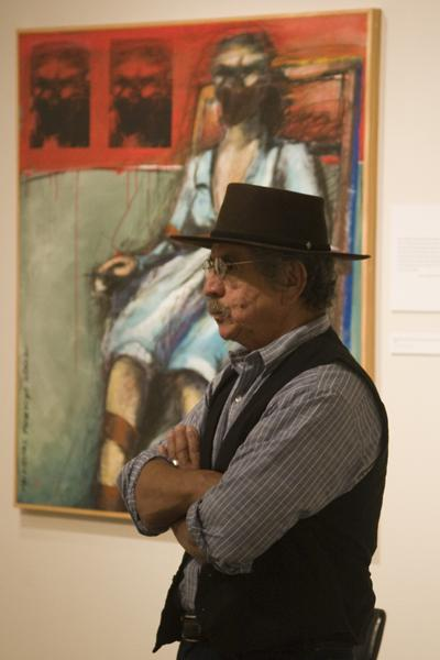 Malaquias Montoya stands by his interpretation of an execution.