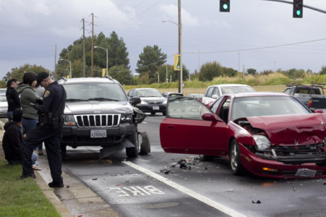 Pair of traffic collisions near Sac State involve seven vehicles