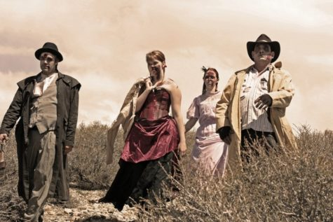 Actors in the Haunted Hagan Park dress up in Old West-style clothing for their scary rendition of a haunted house in Rancho Cordova.