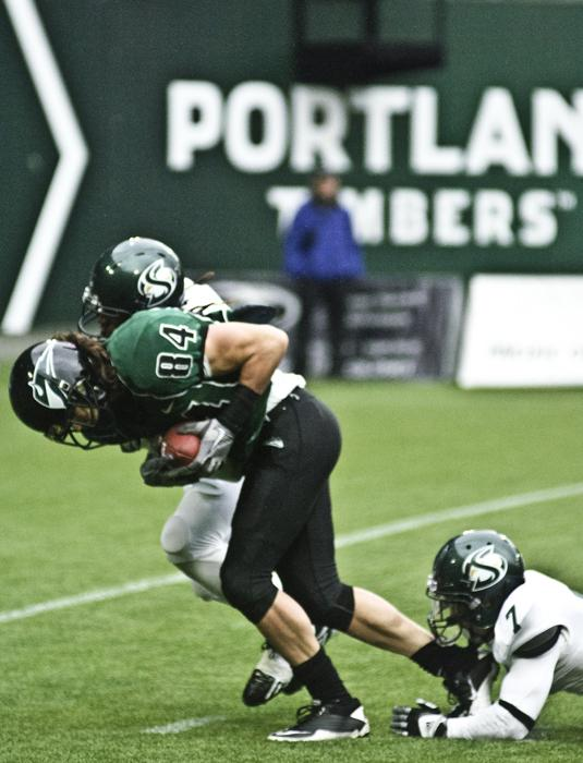Portland+State+junior+wide+receiver+Justin+Monahan+caught+6%0Apasses+for+154+yards+today.%0A