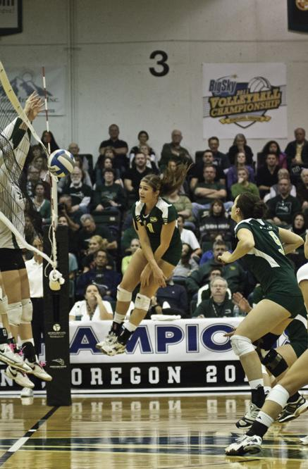 Senior+middle+Kelsey+Elston+has+her+attack+blocked+by+the%0APortland+State+front+row.+Portland+State+recorded+15+blocks+during%0ASaturday%27s+Big+Sky+tournament+semifinal+match.%0A