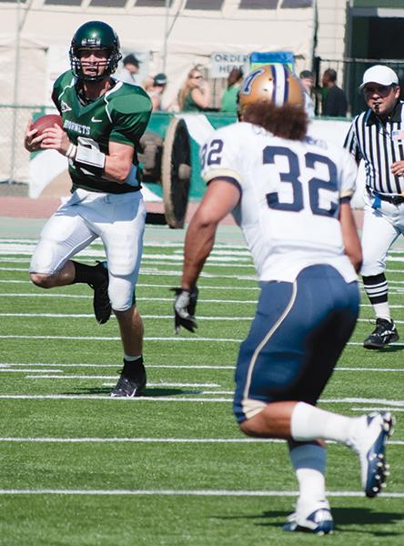 Former Sac State quarterback Jeff Fleming was invited to the NFL Super Regional Combine in Detroit on March 30-31.