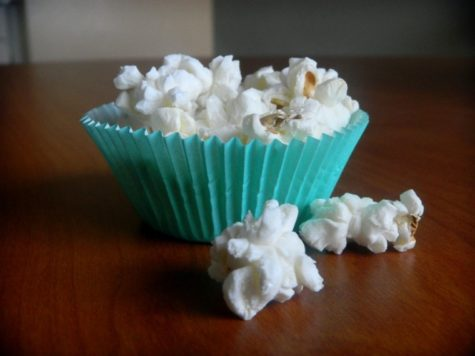 Popcorn is a great choice for healthy snacking. It is fiber-rich, whole grain and very low in fat. My favorite way to eat it is with sea salt or nutritional yeast sprinkled on top.