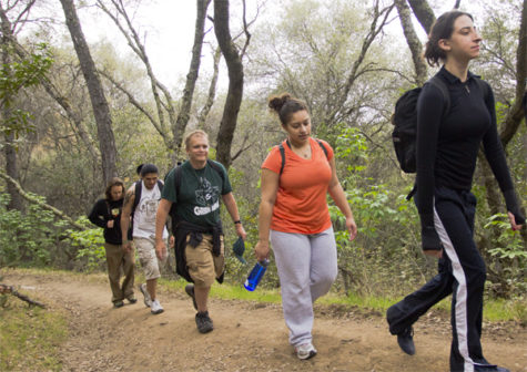 Students take hiking trip to Avery Pond with Sac State's Peak Adventures