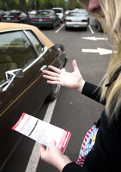 UTAPS officers remain consistent writing up parking violations