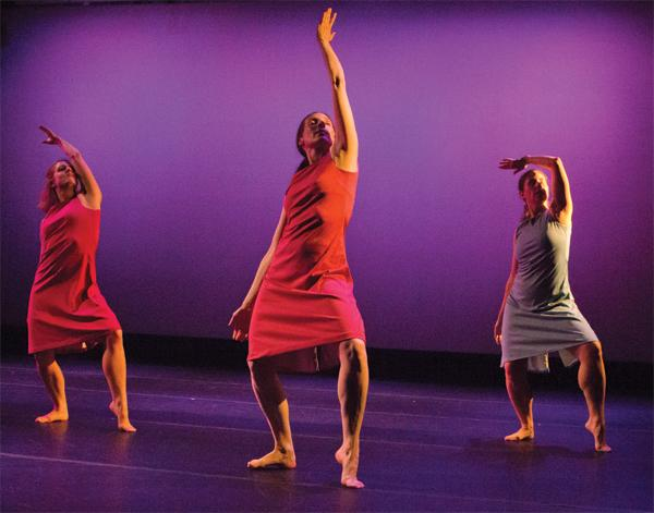 """Dancers from the Linda Blair Dance Company perform to """"One Mad Brunette at the Bar"""" for Sacramento's Dance Sampler on Thursday, Friday and Saturday in Solano Hall."""