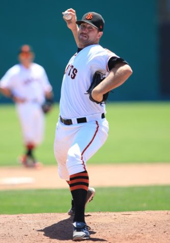 Mitch Lively has risen from single-A San Jose (pictured) to triple-A Fresno.