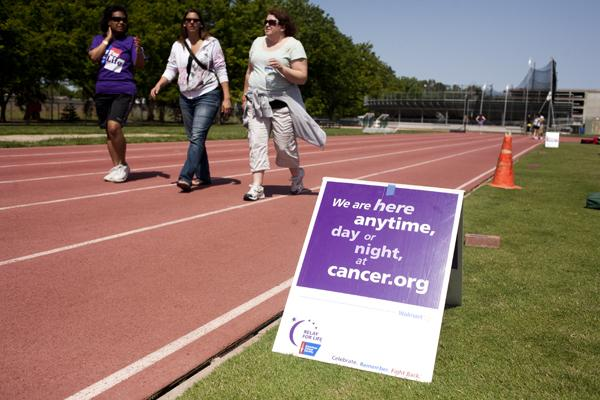 This weekend the American Cancer Society held their annual Relay for life at the football field on campus. The fundraiser has raised over 18 thousand dollars this year.