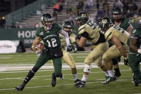 Hornet football gives Cal Poly first loss