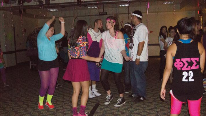 Phi Sigma Sigma hosts a dance-a-thon for toy donations Saturday at Sacramento State.