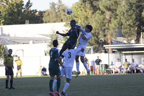 Hornets fall short to UCSB men's soccer