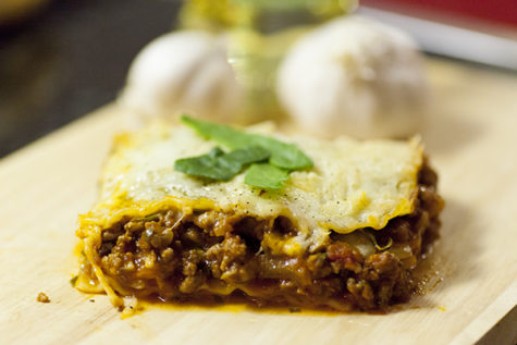 Lasagna is an easy-to-make Italian dish and can be made with different ingredients such as eggplant, spinach or meat. It is great to serve at a big family dinner or to save for leftovers to be used for lunch during the school week.