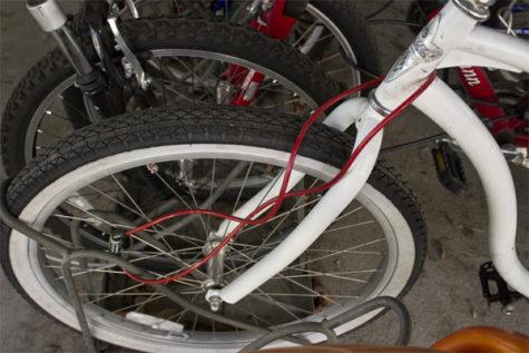 Bicycle bandits keep bagging up bikes