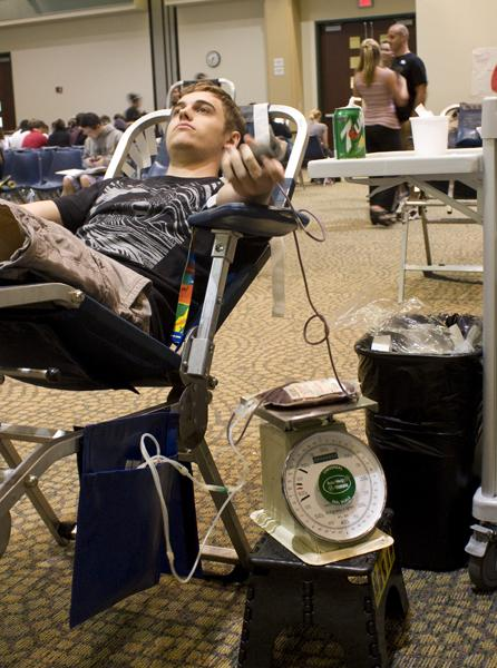 Sacramento State students donate blood to save lives, beat UC Davis and feel normal again