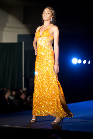 Students showcase their designs in this year's spring fashion show