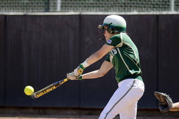 This season, Hornet sophomore outfielder No. 2 Paige Martin is batting .360 with 11 RBIs and 13 runs scored.
