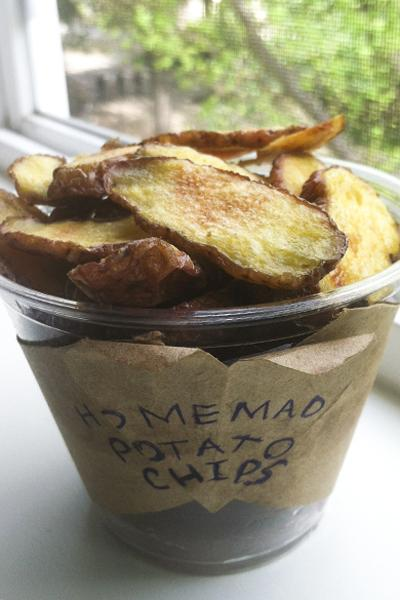 These homemade potato chips are not only full of crunch, but they give you more bang for your buck.