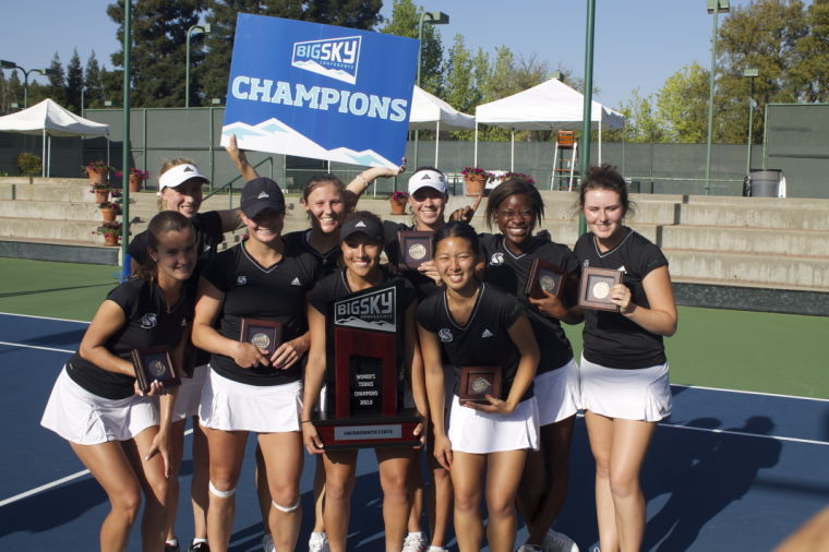 Women's tennis wins 12th straight Big Sky title