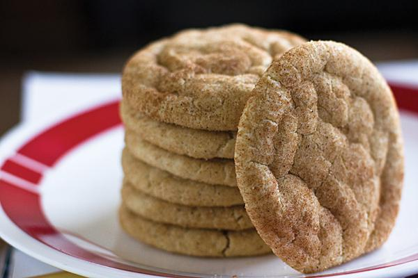 Once they have cooled, the snickerdoodles are ready to serve. One bite of these soft, cinnamon sugar cookies will leave you with a smile on your face.