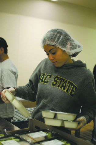 Sac State students do their part in community service outreaches