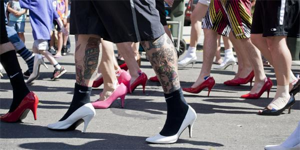 Walk A Mile In Her Shoes is an event that raises awareness and stands up against violence against women in the community and across the nation.