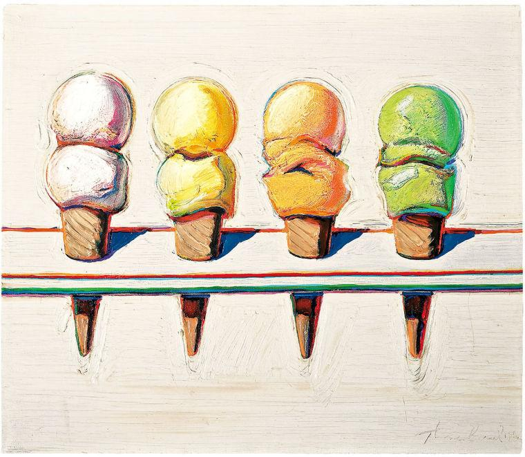 """Paintings like this one will be featured at """"The Paul LeBaron Thiebaud Collection"""" art exhibit in the Sac State library gallery."""