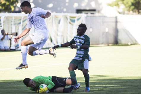 Men's soccer trounced by Cal State Bakersfield