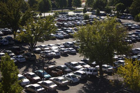 Sacramento State students drift towards parking structures, causing delays and congestion